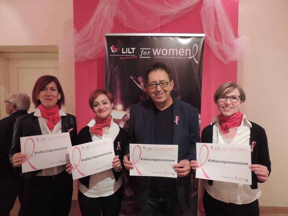 LILT FOR WOMEN 2016 #mostriamocinrosa