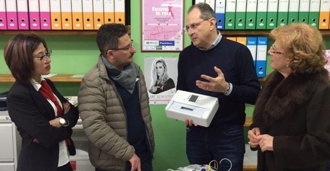 Lilt Pachino, continua la lotta alla prevenzione: inaugurato un nuovo elettrocardiografo